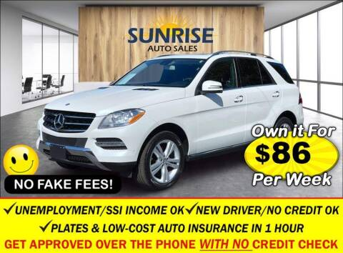 2014 Mercedes-Benz M-Class for sale at AUTOFYND in Elmont NY