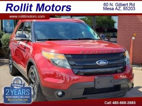 2014 Ford Explorer for sale at Rollit Motors in Mesa AZ