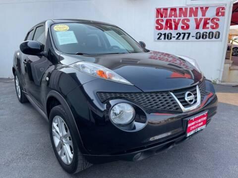 2013 Nissan JUKE for sale at Manny G Motors in San Antonio TX