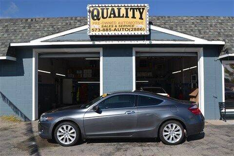 2008 Honda Accord for sale at Quality Pre-Owned Automotive in Cuba MO
