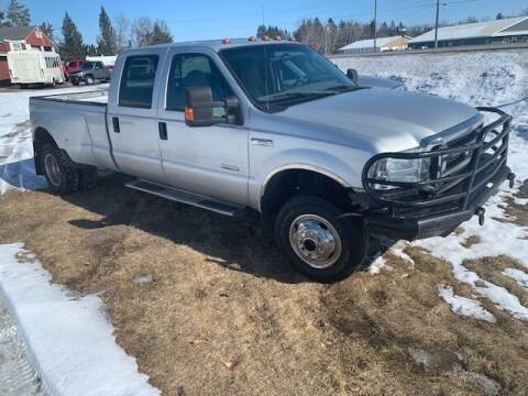 2005 Ford F-350 Super Duty for sale at Four Boys Motorsports in Wadena MN