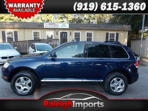 2004 Volkswagen Touareg for sale at Raleigh Imports in Raleigh NC