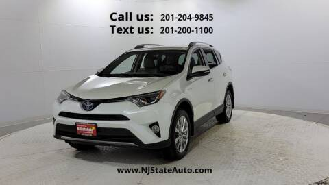 2018 Toyota RAV4 Hybrid for sale at NJ State Auto Used Cars in Jersey City NJ