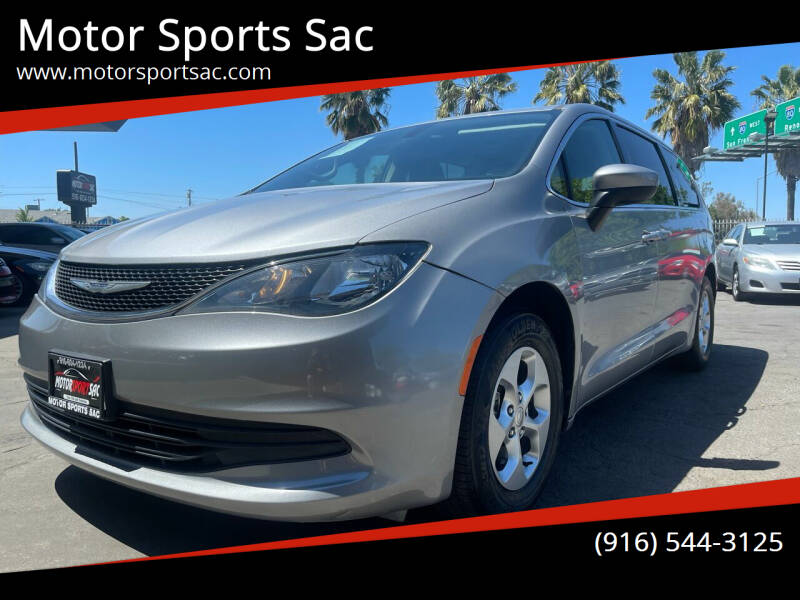 2017 Chrysler Pacifica for sale at Motor Sports Sac in Sacramento CA