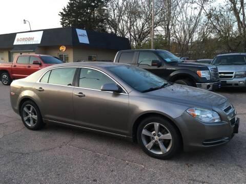 2011 Chevrolet Malibu for sale at Gordon Auto Sales LLC in Sioux City IA