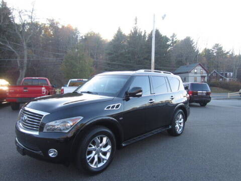 2014 Infiniti QX80 for sale at Auto Choice of Middleton in Middleton MA