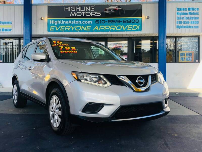2016 Nissan Rogue for sale at Highline Motors in Aston PA