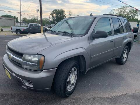2008 Chevrolet TrailBlazer for sale at Rock Motors LLC in Victoria TX