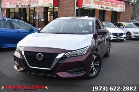 2021 Nissan Sentra for sale at www.onlycarsnj.net in Irvington NJ