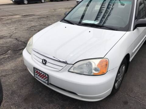 2003 Honda Civic for sale at GREAT AUTO RACE in Chicago IL