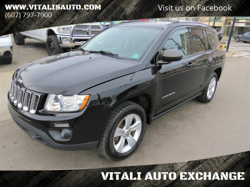 2012 Jeep Compass for sale at VITALI AUTO EXCHANGE in Johnson City NY