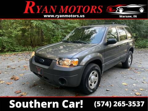 2005 Ford Escape for sale at Ryan Motors LLC in Warsaw IN
