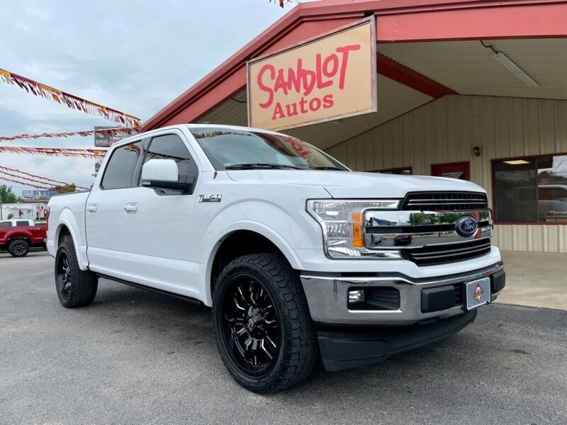2018 Ford F-150 for sale at Sandlot Autos in Tyler TX