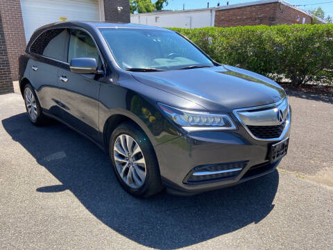 2014 Acura MDX for sale at International Motor Group LLC in Hasbrouck Heights NJ