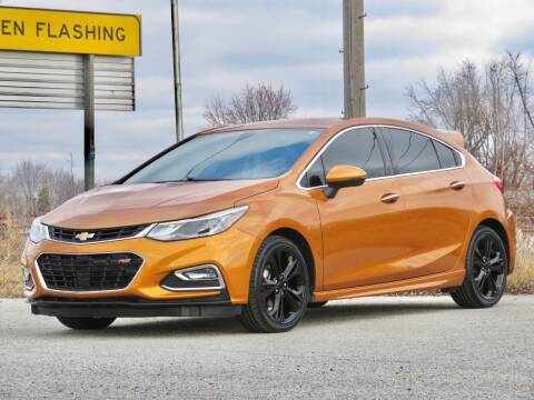 2017 Chevrolet Cruze for sale at Tonys Pre Owned Auto Sales in Kokomo IN