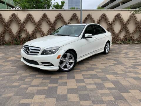 2011 Mercedes-Benz C-Class for sale at ROGERS MOTORCARS in Houston TX
