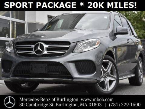 2017 Mercedes-Benz GLE for sale at Mercedes Benz of Burlington in Burlington MA