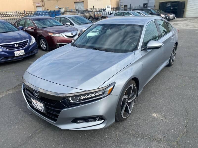 2018 Honda Accord for sale at 101 Auto Sales in Sacramento CA