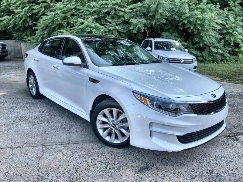 2018 Kia Optima for sale at McAdenville Motors in Gastonia NC