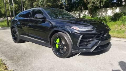 2019 Lamborghini Urus for sale at DELRAY AUTO MALL in Delray Beach FL