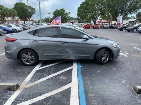 2018 Hyundai Elantra for sale at Jacoby Motors in Fort Myers FL