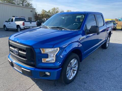 2017 Ford F-150 for sale at Brewster Used Cars in Anderson SC