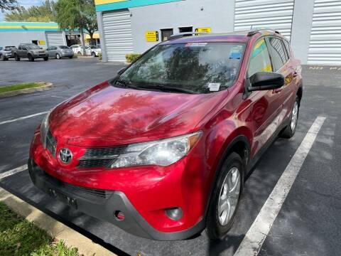2015 Toyota RAV4 for sale at FLORIDA CAR TRADE LLC in Davie FL
