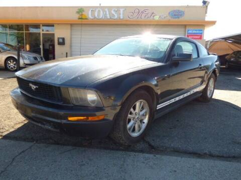 2007 Ford Mustang for sale at Coast Motors in Arroyo Grande CA