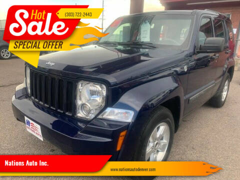 2012 Jeep Liberty for sale at Nations Auto Inc. in Denver CO
