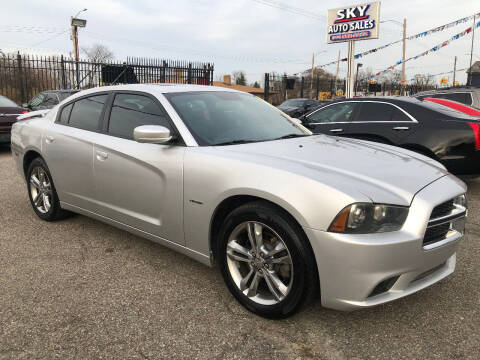 2012 Dodge Charger for sale at SKY AUTO SALES in Detroit MI