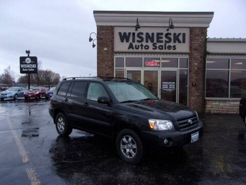 2005 Toyota Highlander for sale at Wisneski Auto Sales, Inc. in Green Bay WI