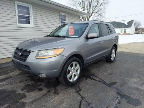 2008 Hyundai Santa Fe for sale at CALDERONE CAR & TRUCK in Whiteland IN