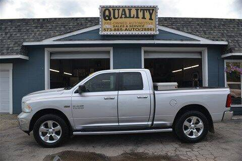 2013 RAM Ram Pickup 1500 for sale at Quality Pre-Owned Automotive in Cuba MO
