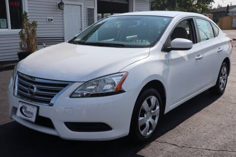 2014 Nissan Sentra for sale at Randal Auto Sales in Eastampton NJ