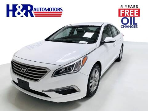 2015 Hyundai Sonata for sale at H&R Auto Motors in San Antonio TX