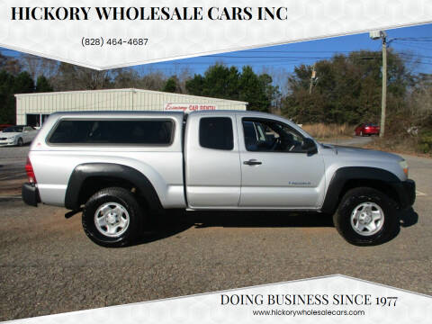 2005 Toyota Tacoma for sale at Hickory Wholesale Cars Inc in Newton NC