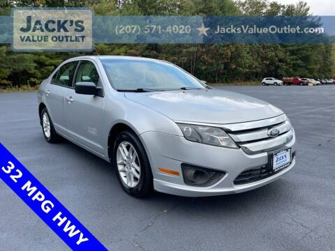2012 Ford Fusion for sale at Jack's Value Outlet in Saco ME