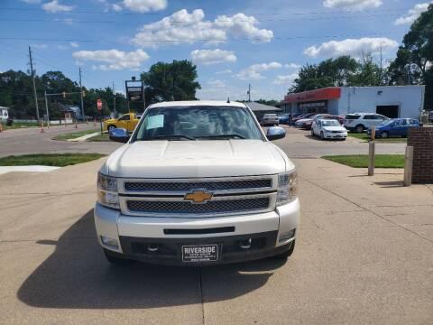 2012 Chevrolet Silverado 1500 for sale at RIVERSIDE AUTO SALES in Sioux City IA