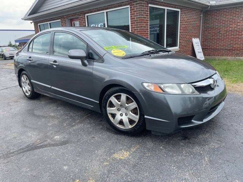 2010 Honda Civic for sale at C&C Affordable Auto and Truck Sales in Tipp City OH