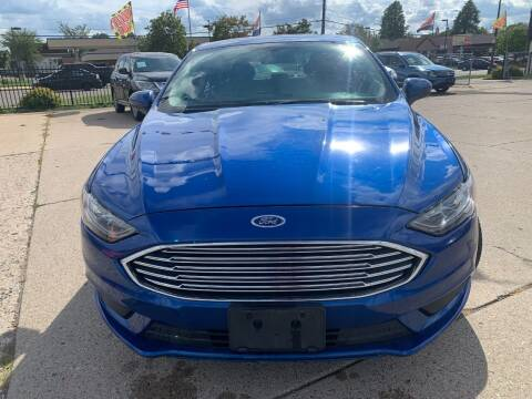 2017 Ford Fusion for sale at Minuteman Auto Sales in Saint Paul MN