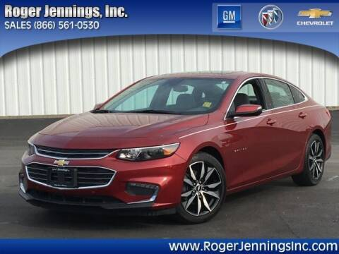 2018 Chevrolet Malibu for sale at ROGER JENNINGS INC in Hillsboro IL