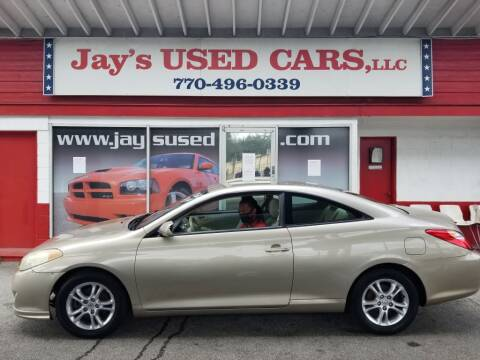 2005 Toyota Camry Solara for sale at Jays Used Car LLC in Tucker GA