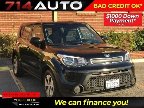 2016 Kia Soul for sale at 714 Auto in Orange CA