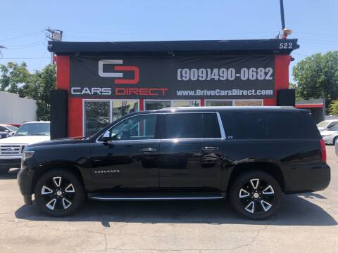 2016 Chevrolet Suburban for sale at Cars Direct in Ontario CA