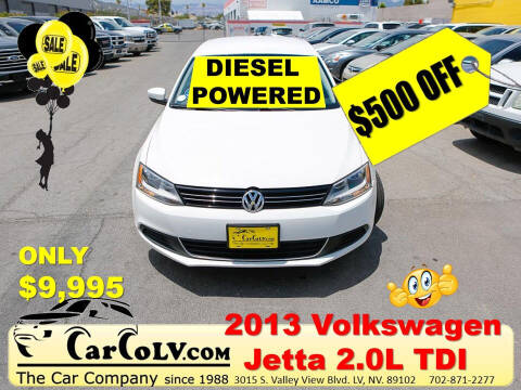 2013 Volkswagen Jetta for sale at The Car Company in Las Vegas NV