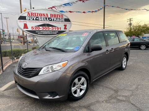 2011 Toyota Sienna for sale at Arizona Drive LLC in Tucson AZ
