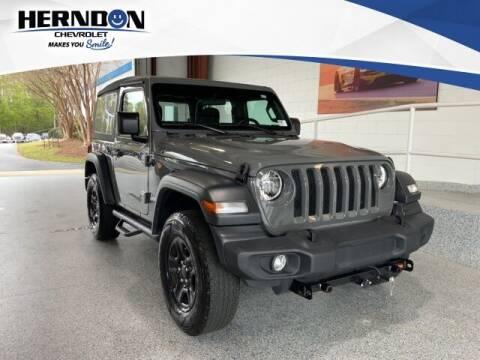 2018 Jeep Wrangler for sale at Herndon Chevrolet in Lexington SC