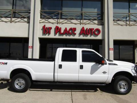 2014 Ford F-250 Super Duty for sale at First Place Auto Ctr Inc in Watauga TX
