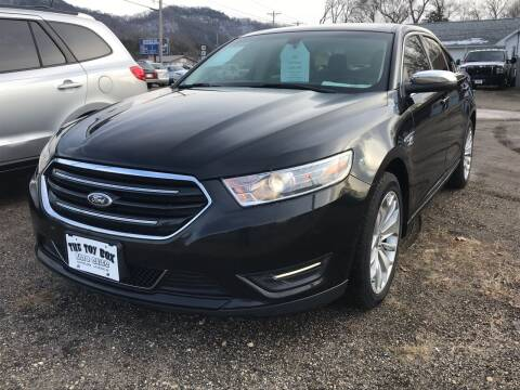 2013 Ford Taurus for sale at Toy Box Auto Sales LLC in La Crosse WI