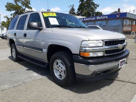 2005 Chevrolet Tahoe for sale at All American Motors in Tacoma WA